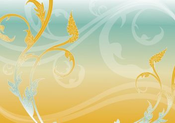 Thai painting_beaujungka - Free vector #141547