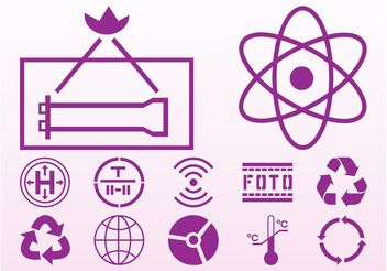 Icons And Signs - vector gratuit #142047