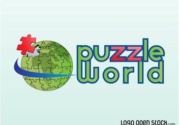 Puzzle Logo - бесплатный vector #142807
