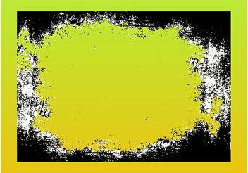 Grunge Frame - vector #142897 gratis