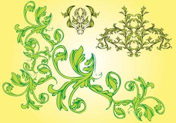 Free Nature Vector Ornaments - Free vector #142907