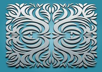 Classic Ornament Vector - Free vector #143447