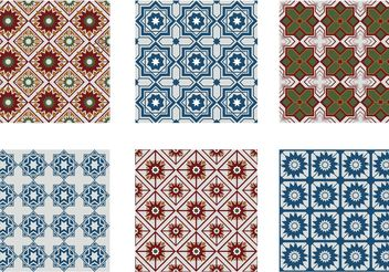 Morocco Seamless Pattern Vectors - Free vector #143507