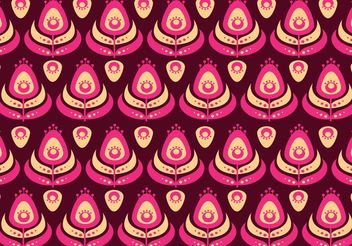 Seamless Exotic Peacock Pattern Vector - Free vector #143587