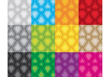 Snake Skin Patterns - Free vector #143627