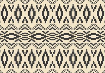 Native American Vector Pattern with Mosaics - Free vector #143647