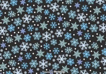 Winter Snowfall Texture - Free vector #143787