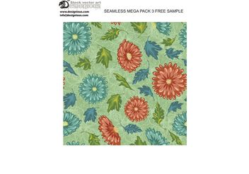 Free vector seamless pattern - бесплатный vector #143857