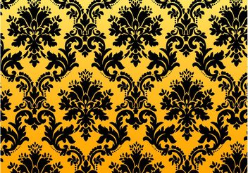 Vintage Floral Pattern - vector gratuit #143907