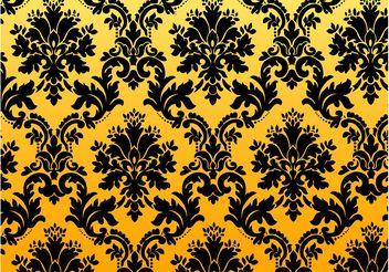 Vintage Floral Pattern - Kostenloses vector #143907