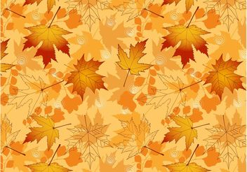 Vector Autumn Pattern - Free vector #144027