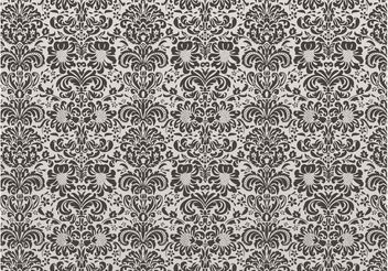 Damask Floral Pattern - Free vector #144047