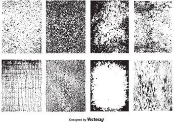 Vector Grunge Textures - Free vector #144177