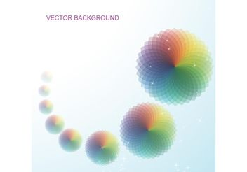 Background Vector with Abstract Circular Patterns - vector gratuit(e) #144317
