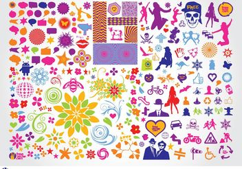 Vector Illustrations - Free vector #144357