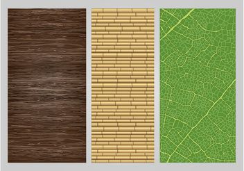 Nature Textures - Free vector #144377