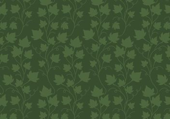Ivy Vine Pattern Free Vector - Free vector #144437