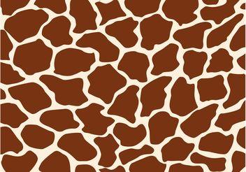 Giraffe Pattern - vector gratuit #144627