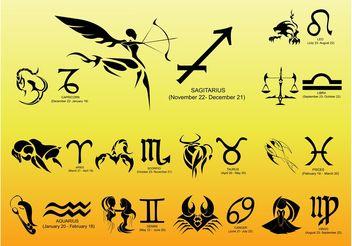 Zodiac Vectors - Free vector #144767