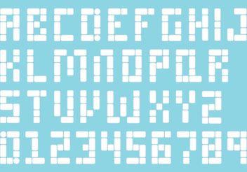 Bubblegum Vector Type - Free vector #145067