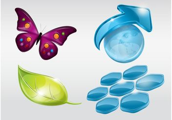 Nature Logos - бесплатный vector #145727