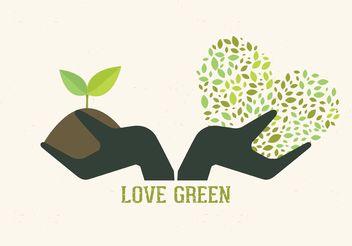 Free Vector Gardening Hands Concept - vector gratuit #145947
