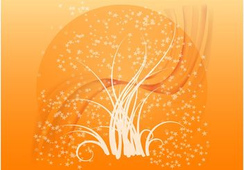 Stars And Leaves - vector gratuit(e) #146387