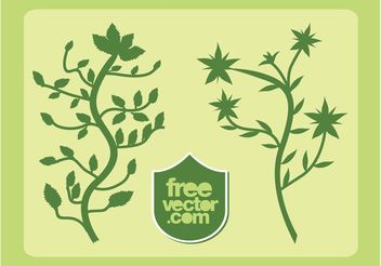Plants Vector - Free vector #146407