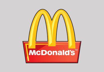 McDonald's Vector Logo - Free vector #146927