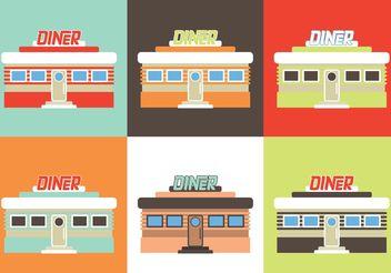 Diner restaurant - Free vector #146947