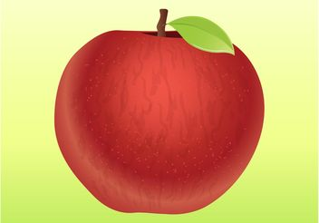 Apple Vector - Free vector #147087
