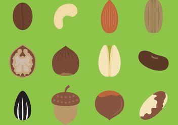Food Seed Vectors - бесплатный vector #147187