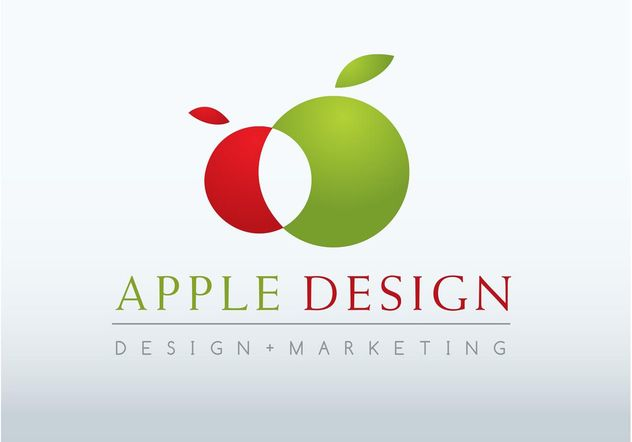 Apple Logo Design - Free vector #147547
