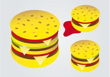 Hamburgers - Kostenloses vector #147867