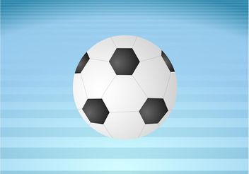 Football Ball - Kostenloses vector #148157