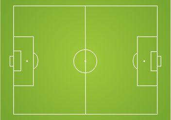 Soccer Field Vector - Free vector #148247