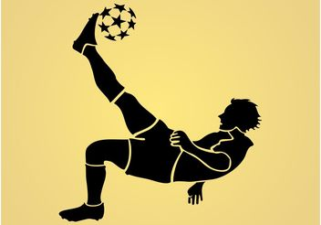 Football Player - vector gratuit #148257