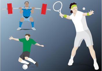 Sports Vector - Free vector #148297