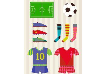 Soccer Vectors - Free vector #148337