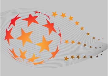 Stars Globe - vector gratuit #148517