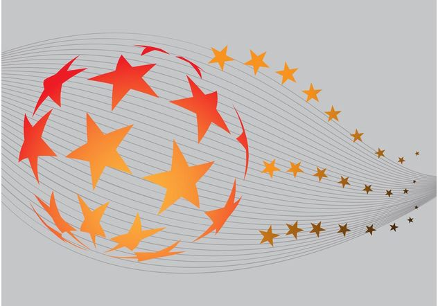 Stars Globe - Free vector #148517