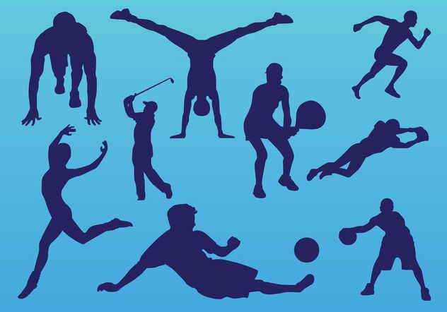 Sport People - vector gratuit(e) #148637