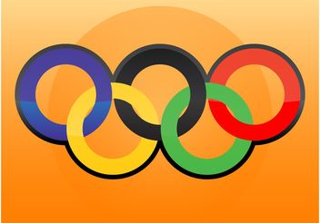 Olympic Logo Vector - Free vector #149007