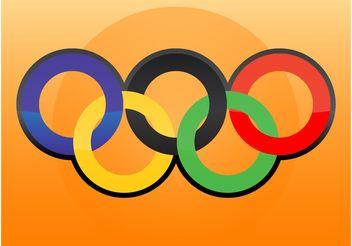 Olympic Logo Vector - Kostenloses vector #149007