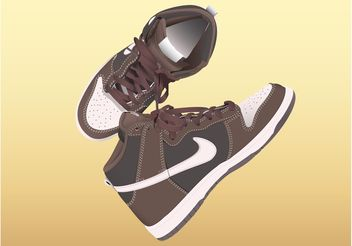 Nike Shoes - Free vector #149077