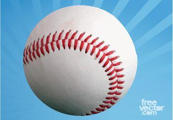 Blank Baseball - vector gratuit #149097