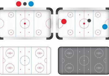 Hockey Rink Vectors - Free vector #149187