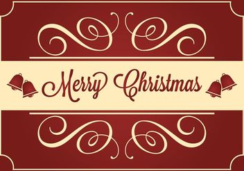 Christmas Card - vector gratuit #149257