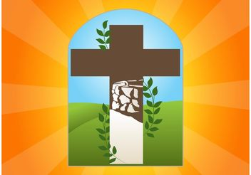 Cross Logo - vector gratuit #149387