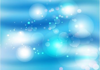 Peaceful Blue Light - бесплатный vector #149937